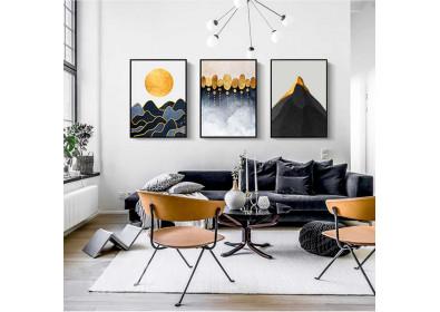 Украшение картинами кабинета